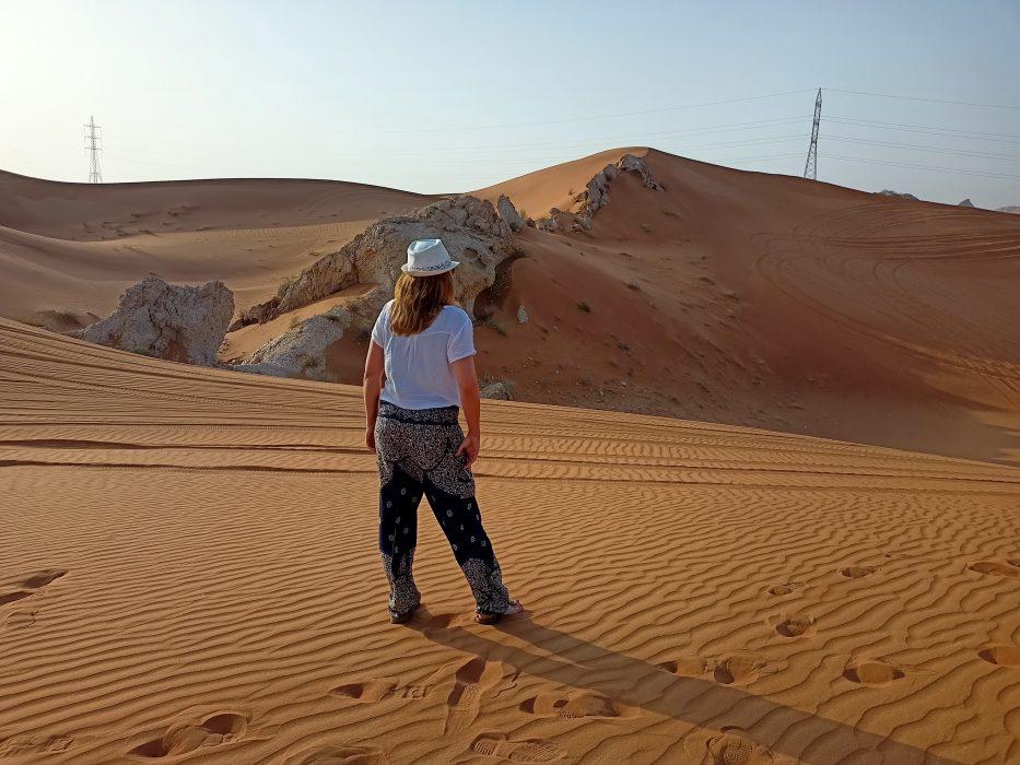 esperienza di viaggio nel deserto di Dubai